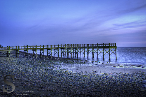 milford Pier at Gulf Beach-