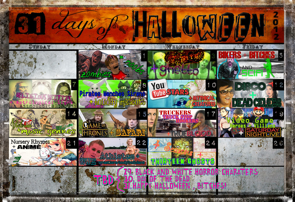 31 Days of Halloween 2012