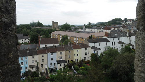 Chepstow seen from the castle