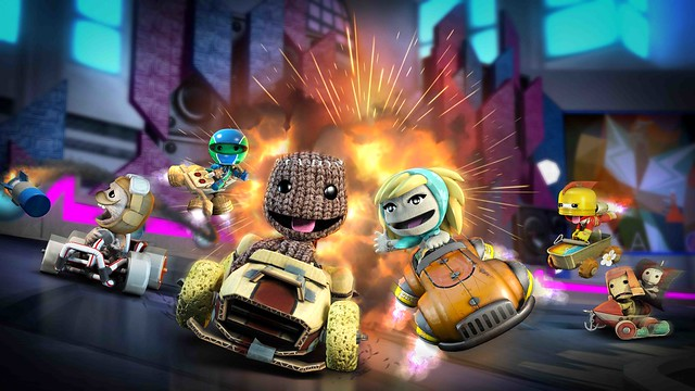 Sack it to Me: LittleBigPlanet Karting