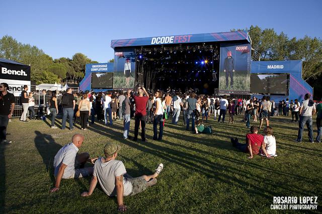 DCode Fest 2012, Viernes