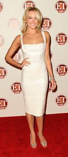 Peta Murgatroyd Bandage Dress Herve Leger Celebrity Style Women's Fashion