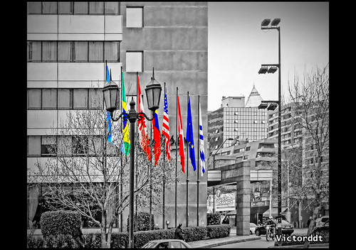 Flags - Santiago de Chile