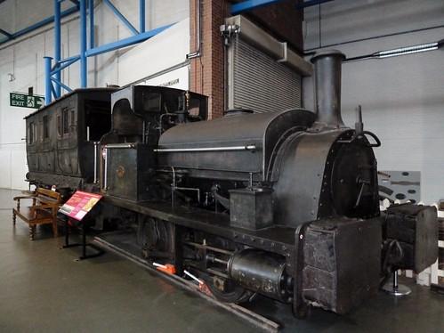 Unrestored Steam Engine, Railway Museum