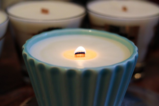 Homemade woodwick candles - HoMe SiMpLiCiTy