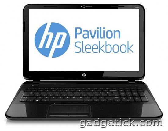 HP Pavilion Sleekbook 14 & 15