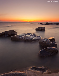 Sunset On The Rocks