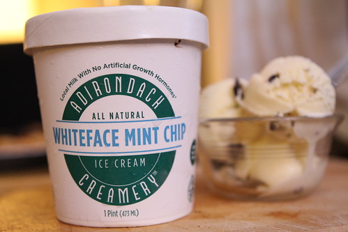 Adirondack Creamery Whiteface Mint Chip Ice Cream