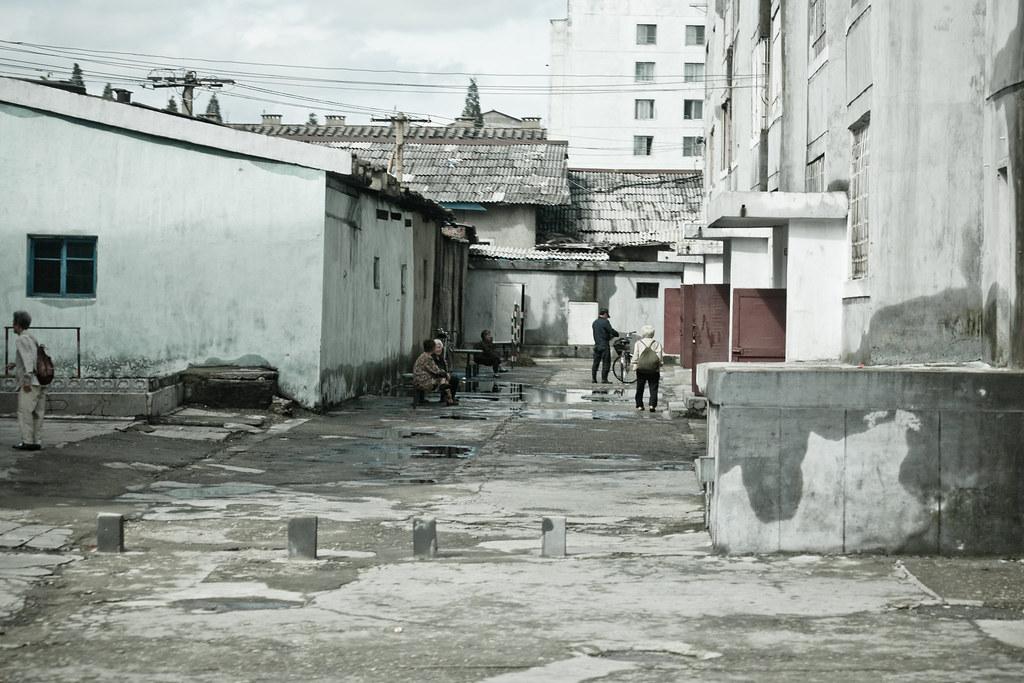 Pyongyang street (North Korea) | Pyongyang (평양, Korean