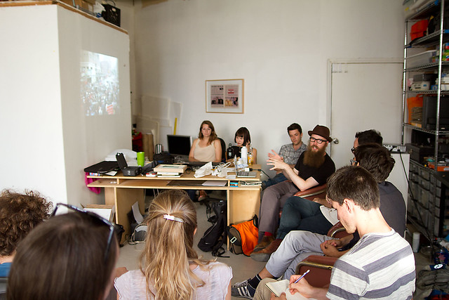 Steve Lambert talks to the New York Art Practicum