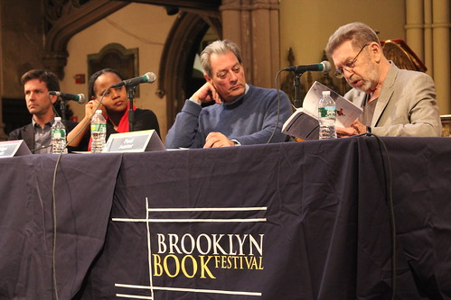 Johnny Temple, Edwidge Danticat, Paul Auster, and Pete Hamill