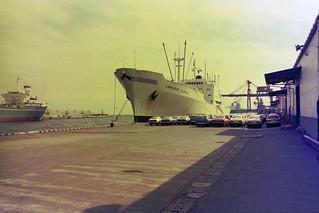 Labrador Clipper alongside in Yokohama