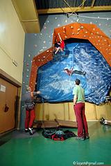 Budowa ściany wspinaczkowej