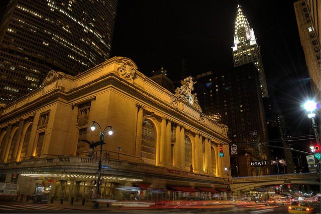 Grande Central & Chrysler Building