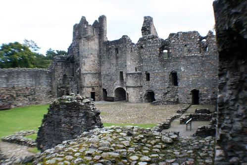 Inside Balvenie Castle, Dufftown