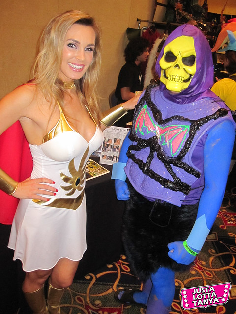 POWER-CON 2012 Tanya Tate Sexy Cosplay As She-ra