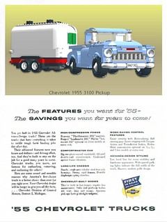 Chevrolet 1955 Pickup Truck Advert