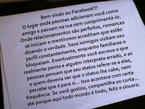 Isto é o Facebook! by Rogsil