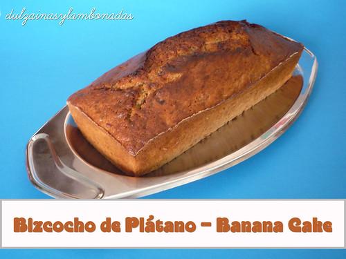 Bizcocho de Plátano