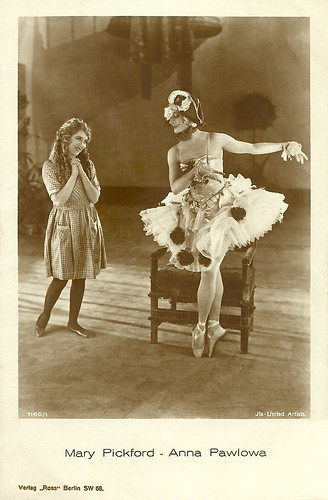 Mary Pickford, Anna Pavlova