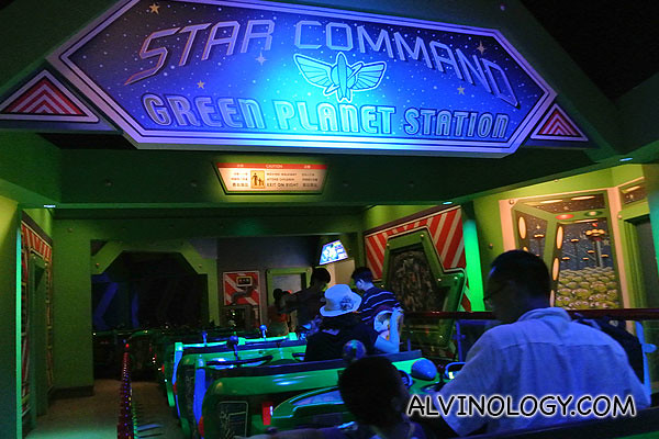 Entering Star Command