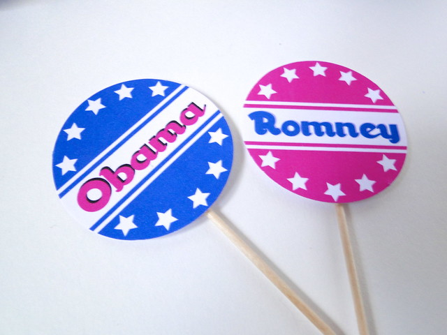 Try This: 2012 Election Party Decor