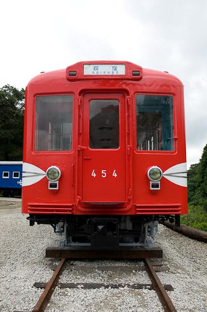 営団地下鉄丸ノ内線400形454号車 - いすみポッポの丘保存車