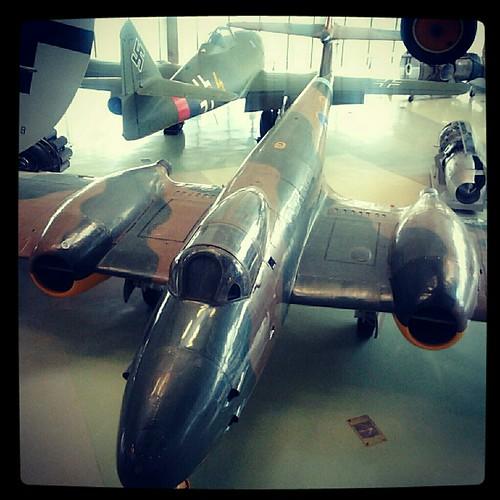 modellino di aereo