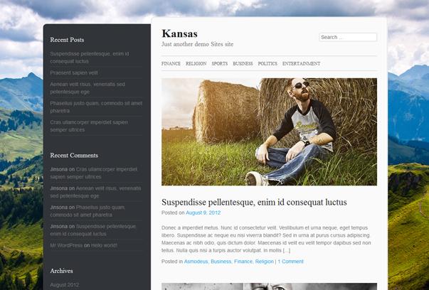 Theme blog cá nhân độc đáo