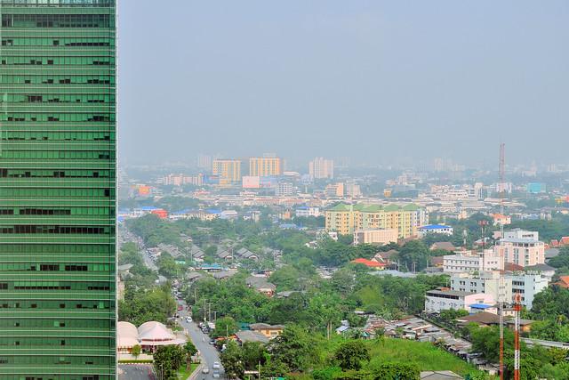 Morning over Lad Prao, Bangkok - HDR
