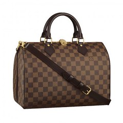 Louis Vuitton Speedy 30 With Shoulder Strap N41183