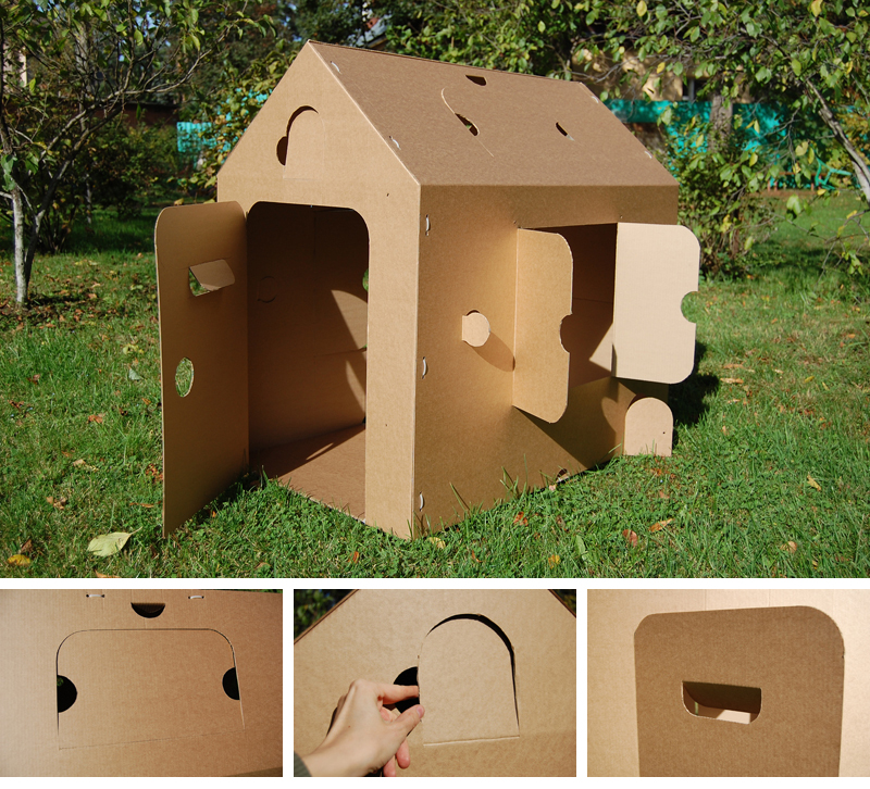Cardboard playhouse_001