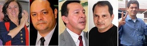 Candidatos a prefeito de Santarém 2012. Posição da 3ª pesquisa