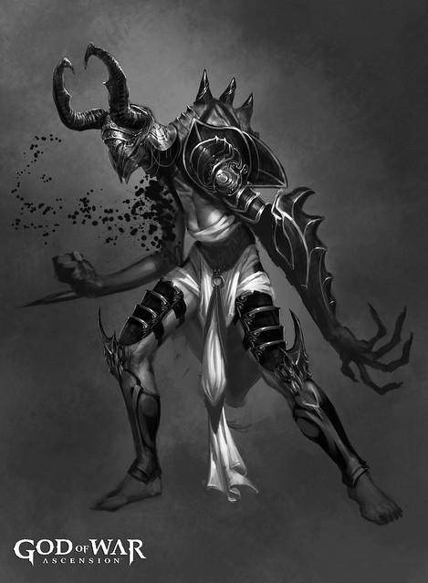 god of war ascension megaera concept flickr photo