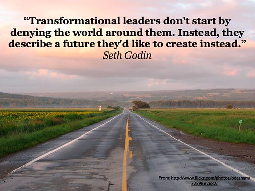 Transformational Leadership (Credits: GeorgeCouros / FlickR)