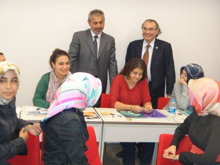Abbas Güçlü Üsküdar Üniversitesi'ndeydi… 2