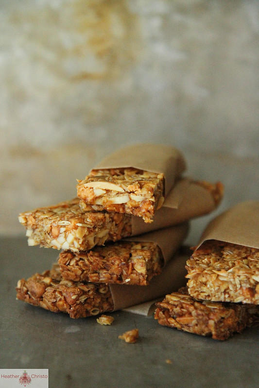 55 Pumpkin Recipes, like this Pumpkin Butterscotch Granola Bars