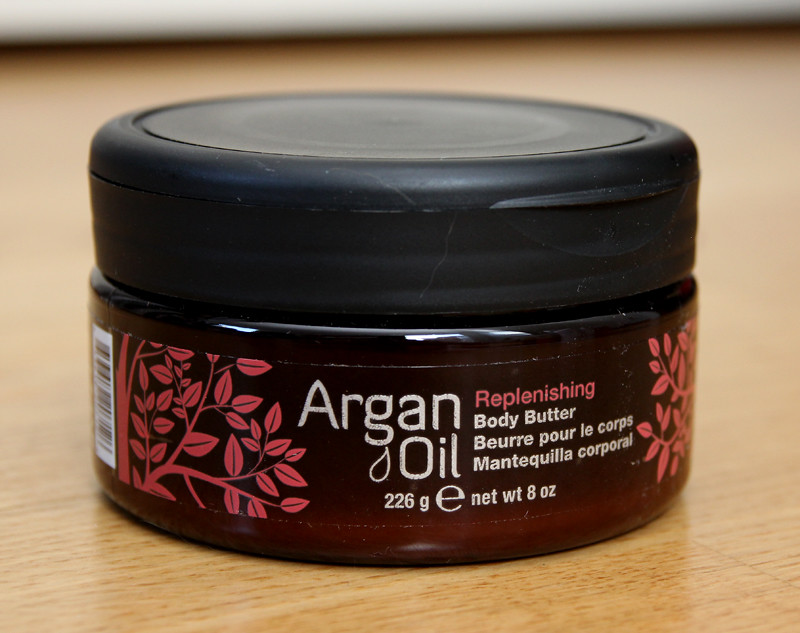 Argan oil replenishing body butter