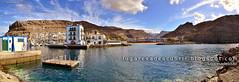 Salida del Puerto de Mogán (Gran Canaria, España)