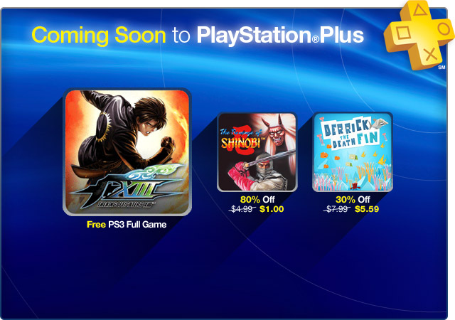 PlayStation Plus Update 10-9-2012