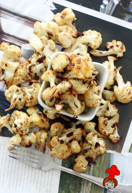 oven baked cauliflower 1