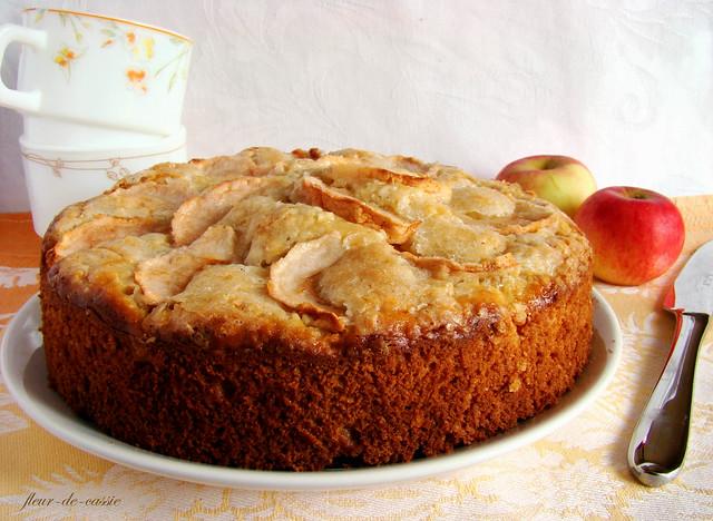 пирог яблочно-кокосовый 2
