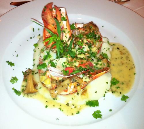 Roasted Maine Lobster at Gary Danko
