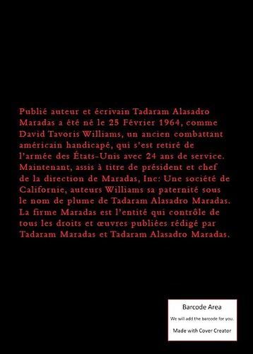 Tadaram Maradas 'Chapbook du Poème Lyrics © enregistrés Une compilation de 26 poèmes individuels by Tadaram Alasadro Maradas