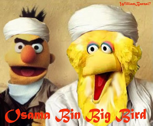 OSAMA BIN BIG BIRD by Colonel Flick