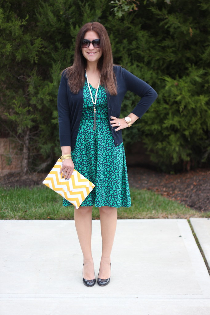 Chevron and Hearts Outfit