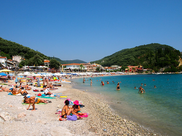 Krioneri Beach in Parga, Greece