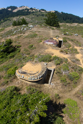 Hill 640 fire control stations