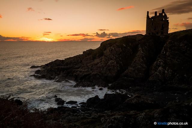 Dunskey Castle Sunset [IMG_1144]