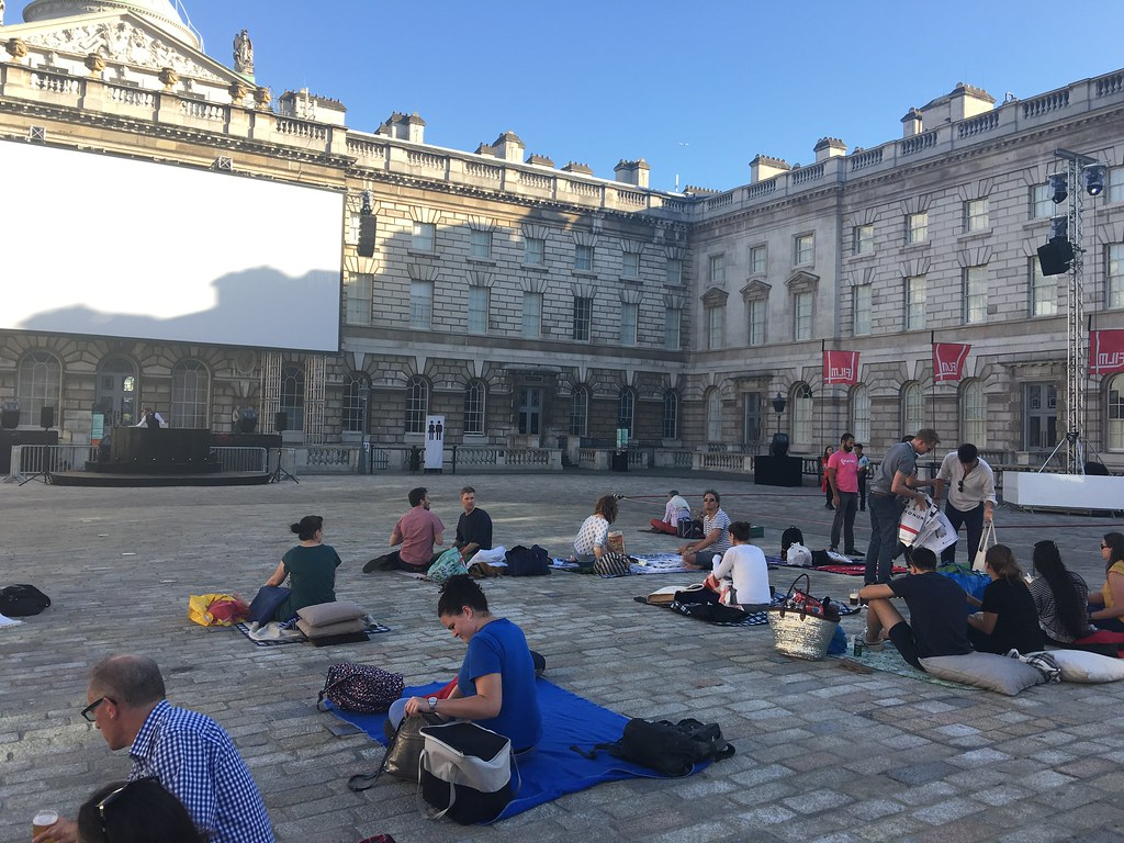 Somerset House - Open Air Cinema